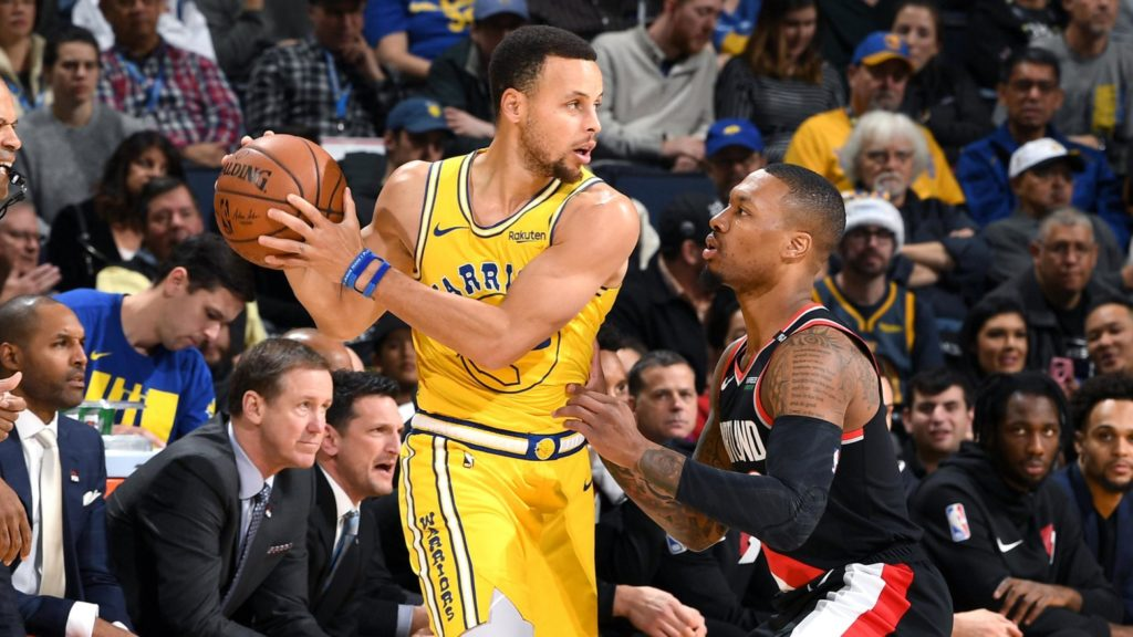 warriors vs trail blazers - photo #8