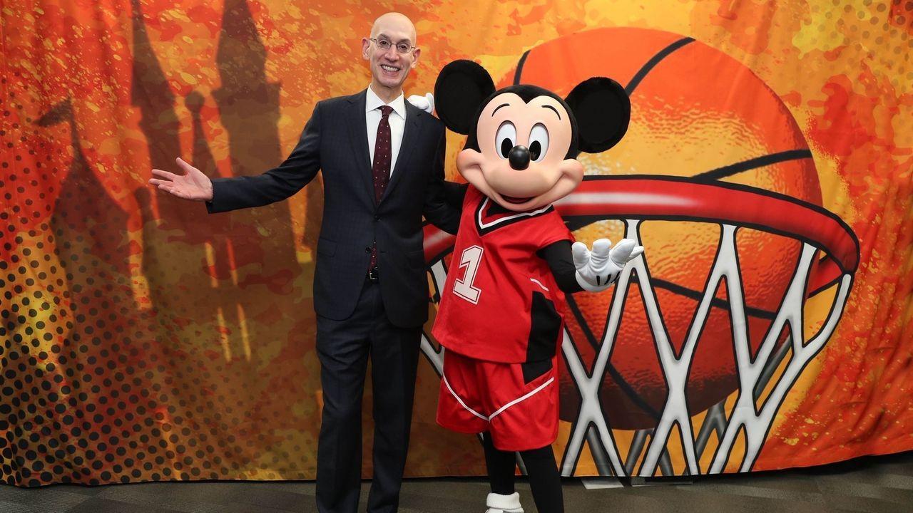 La stagione NBA ripartirà da Disney World il 31 luglio