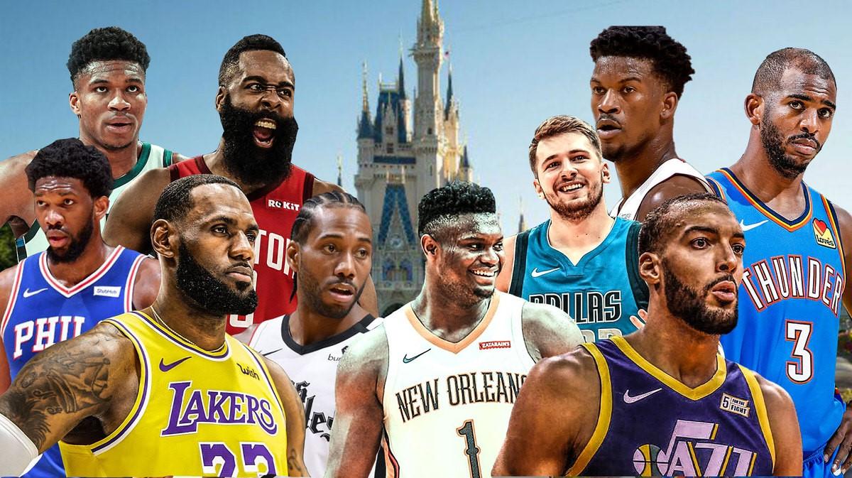 La stagione NBA riparte stanotte dal Walt Disney World Resort di Orlando
