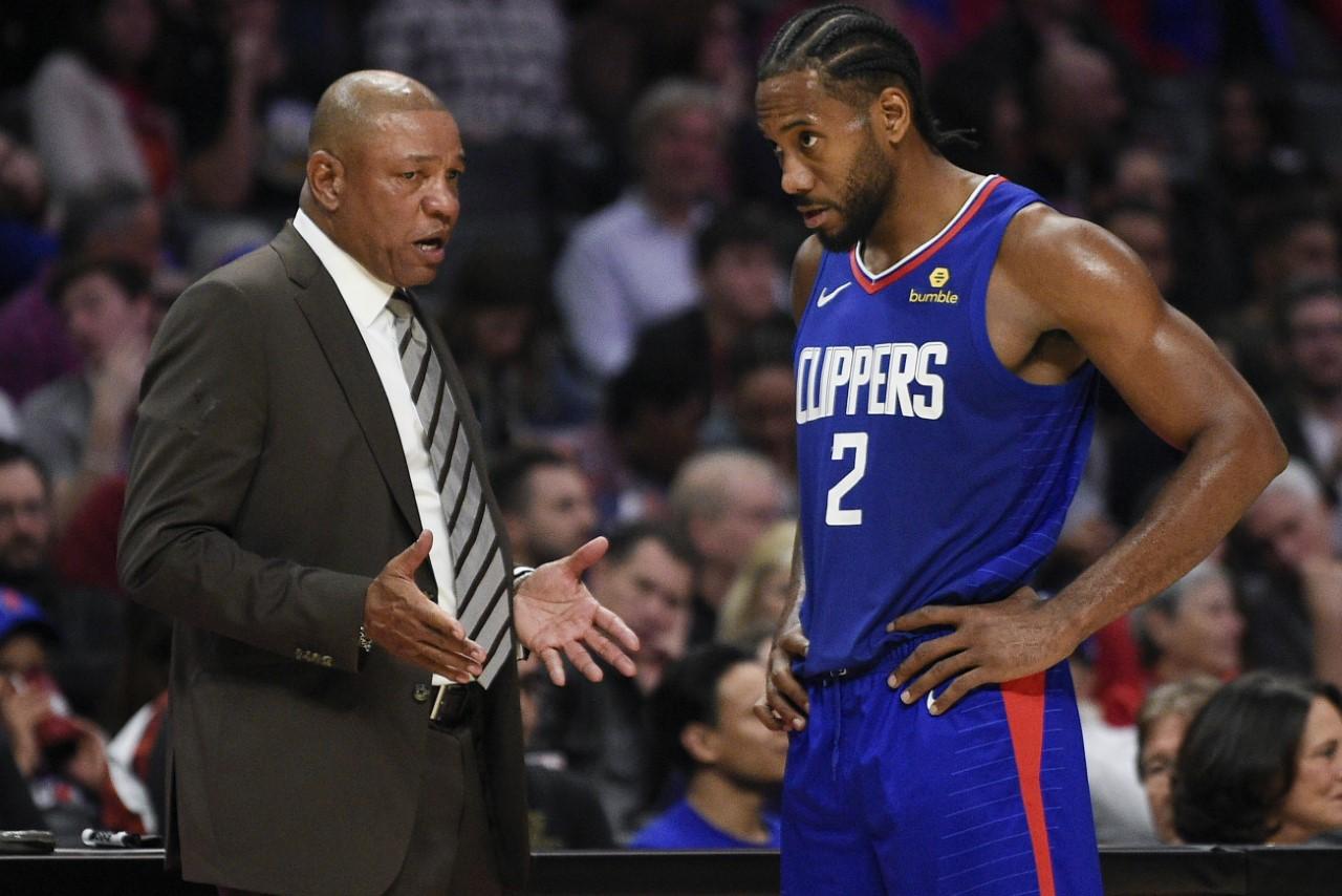 Doc Rivers e Kawhi Leonard, volti dei nuovi Los Angeles Clippers