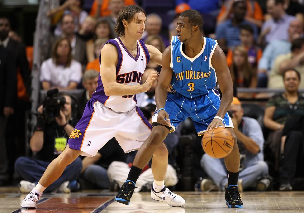 Steve Nash e Chris Paul, passato e futuro dei Phoenix Suns